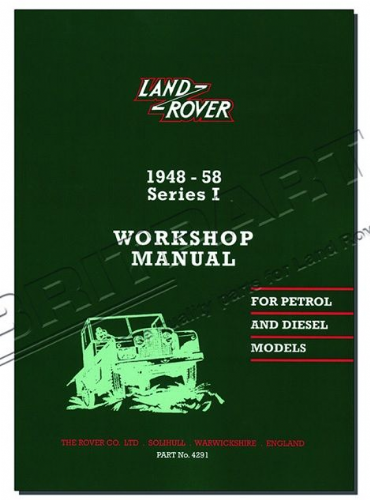 Series 1 - Workshop Manual